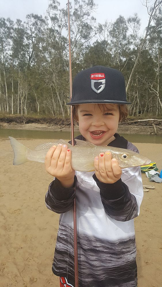 A Shoulder Slapping Whiting... Not Bad at 4yrs Young!